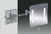 Подробнее о Зеркало косметическое Windisch 99857/2CR с LED (диодной) подсветкой сенсорное (3X) хром