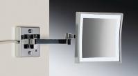 Подробнее о Зеркало косметическое Windisch 99867/2CR с LED (диодной) подсветкой сенсорное (3X) хром