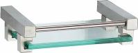 Подробнее о Мыльница Zorg Inox Labe ZR 1115 подвесная нержавеющая сталь/стекло
