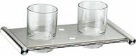 Подробнее о Стакан Zorg Inox Bltava ZR 1325 настенный двойной нержавеющая сталь/стекло