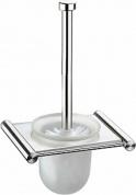 Подробнее о Ершик для туалета Zorg Inox Bltava ZR 1328 подвесной нержавеющая сталь / стекло матовое