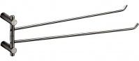 Подробнее о Полотенцедержатель Zorg Inox Bltava ZR 1333 двойной поворотный нержавеющая сталь