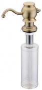 Подробнее о Дозатор жидкого мыла Zorg Inox ZR-24 BR встраиваемый бронза